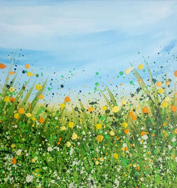 Sunshine Meadows - reserved for Julie by Lucy Moore