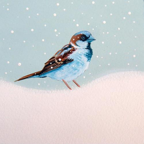 Winter Sparrow by Denise Coble