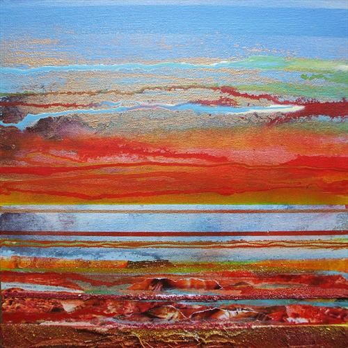 Sunset Rhythms & Textures Northumberland Coast 1 by Mike Bell