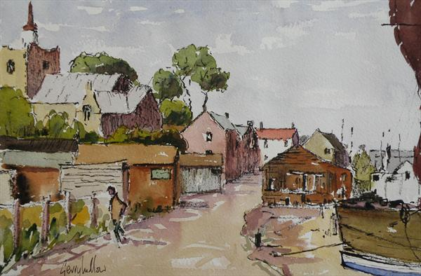 Maldon Essex by Gerry Ludlow