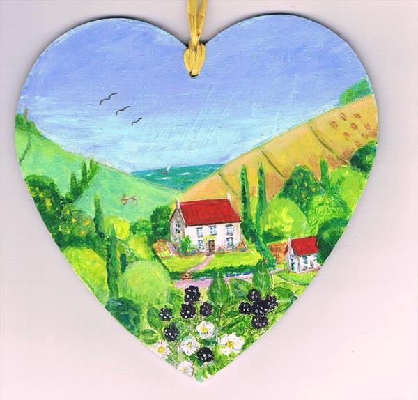 Bramble  Cottage by Maureen Lacey