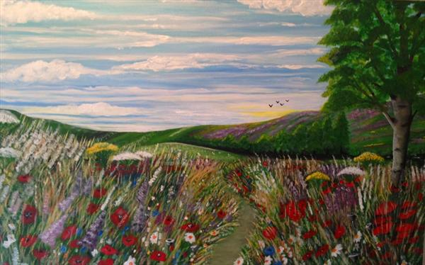 Wildfields by Susan Cook