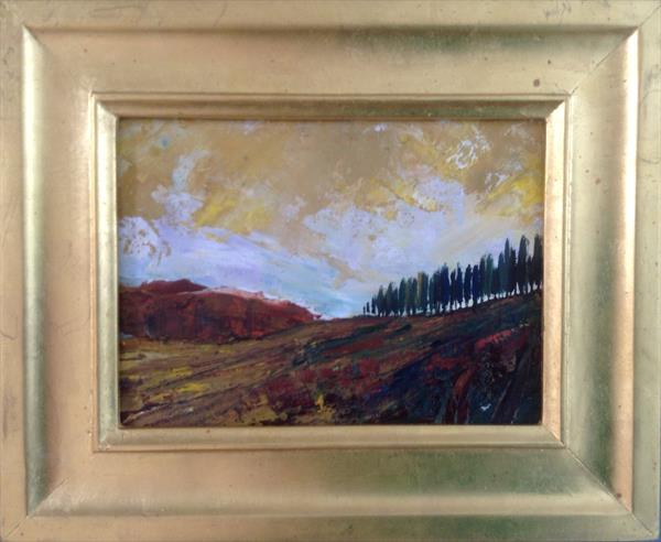 Sienese Gold  ( framed original) by Sarah Gill