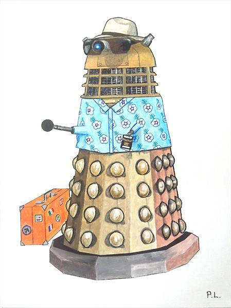 Holiday Dalek by Patrick Lee