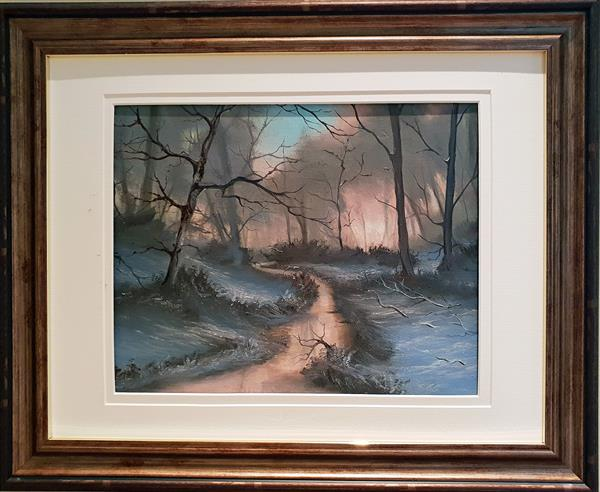 Morning Has Broken - FRAMED by Elizabeth Williams