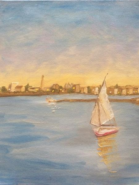 Nile Study 3 by Helen Forster