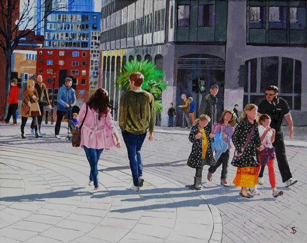 Passers by by Stuart Dalby