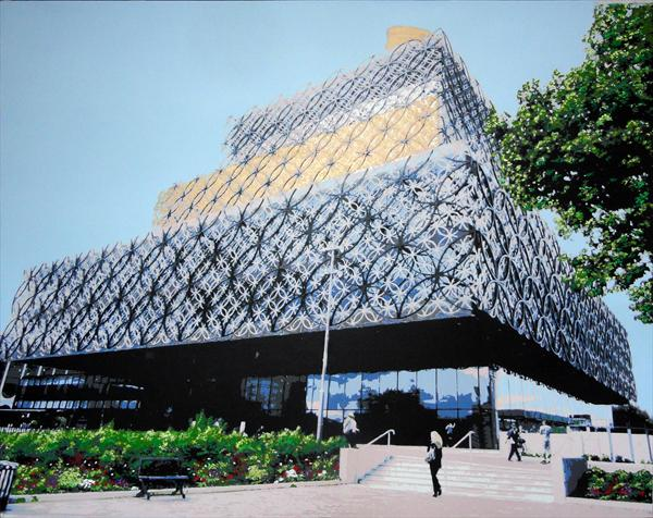Birmingham New Library by Sue Rowe