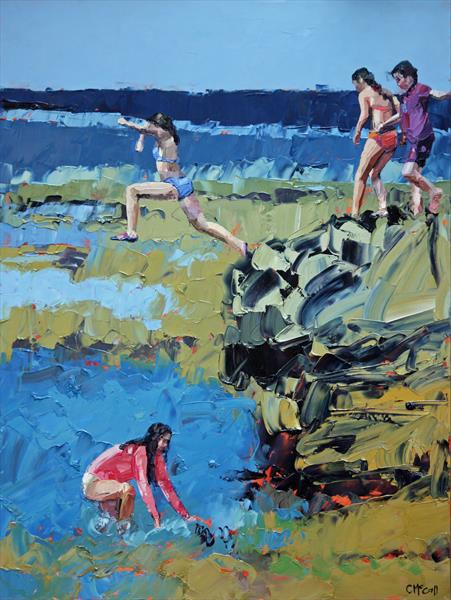 Rockpool Jumping by Claire McCall