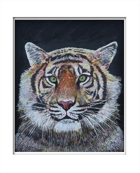 Tiger 4 by Roz Edwards
