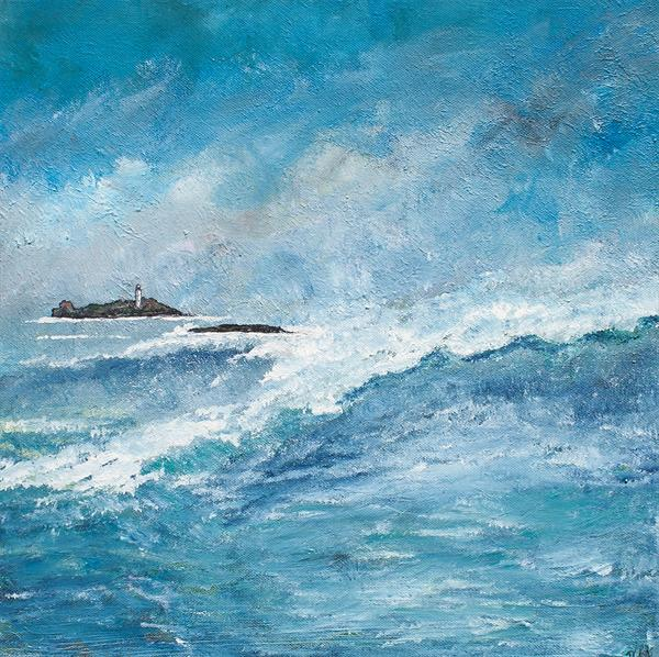 Godrevy's Lighthouse by Diane Griffiths