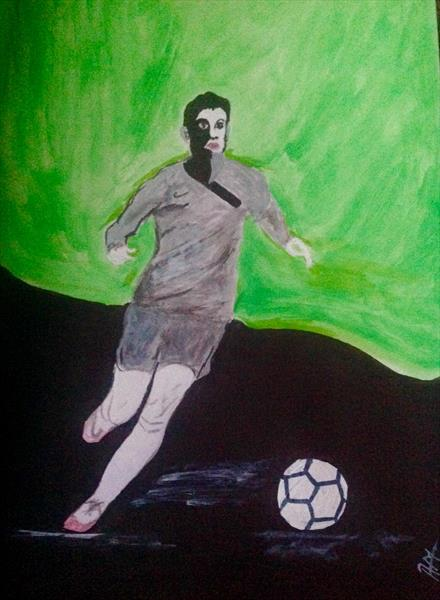 Come on let's football series 3 of 3 by Anushree Mish