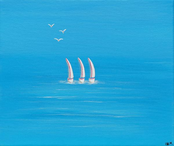 Sailing in Summer by Jacqueline Moore