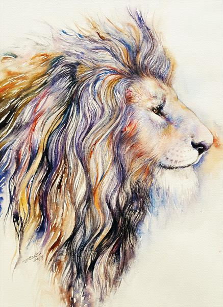 Augustus the Lion by Arti Chauhan