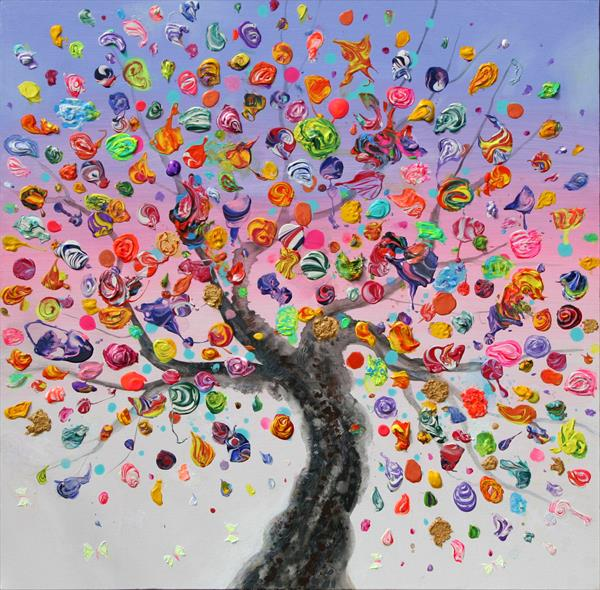 Butterfly Tree by Julia Sadeh