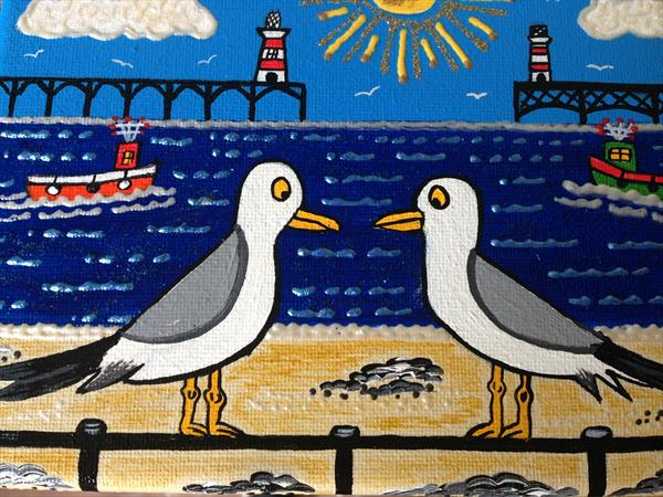 Seaside Gulls