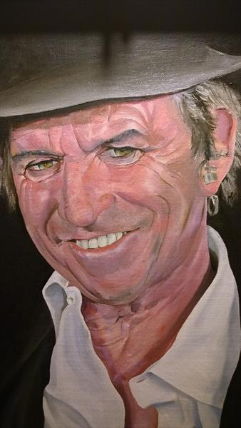 Keith Richards by David Walker