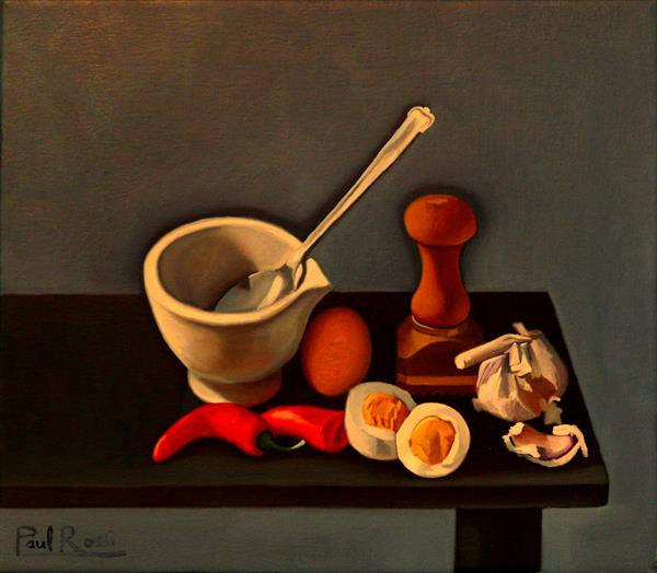 Kitchen Still-Life by Paul Rossi