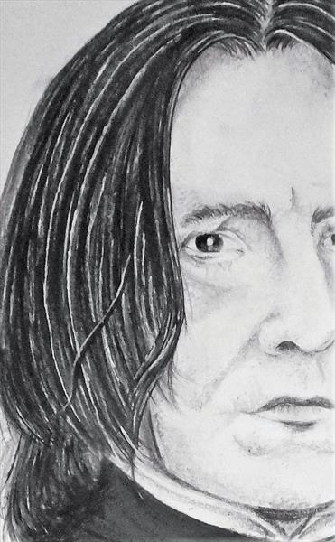 Peeping Snape by Coral Isla Thomas
