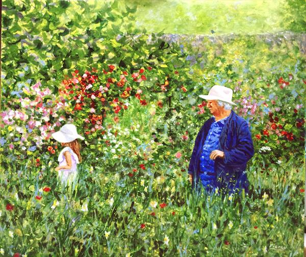Monet's Garden - Giverny by martin piercy
