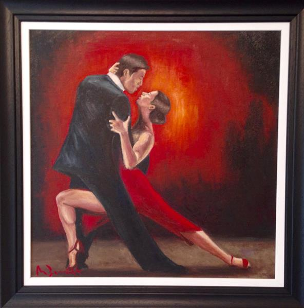 Tango Passion IV by Mark Bennett