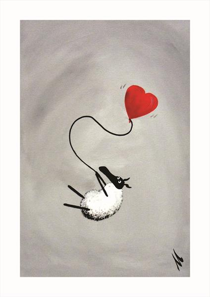 I Heart Ewe (Limited Edition Print)