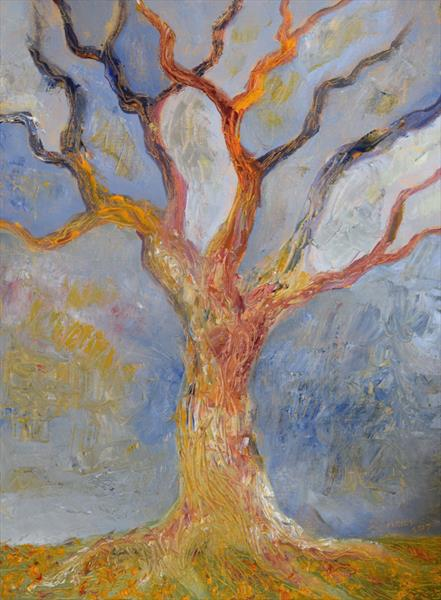 Tree in Sunlight by Jeremy Mayes