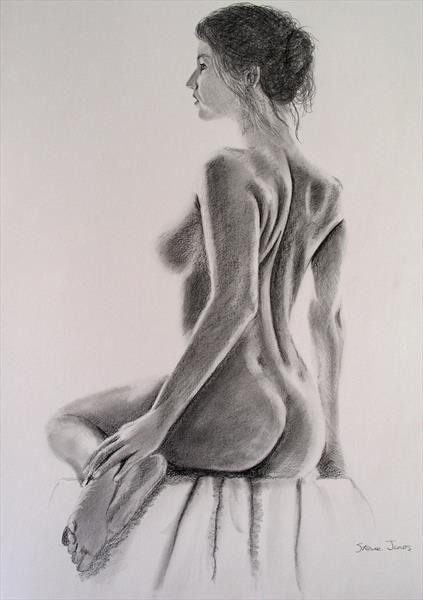 Pencil Nude 40 by Steve Jones
