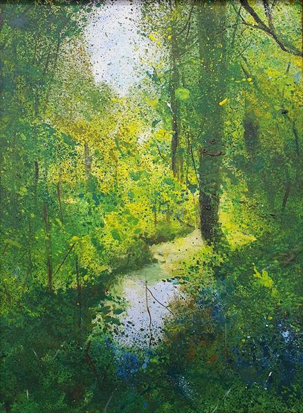 Woodland Pond by Teresa Tanner