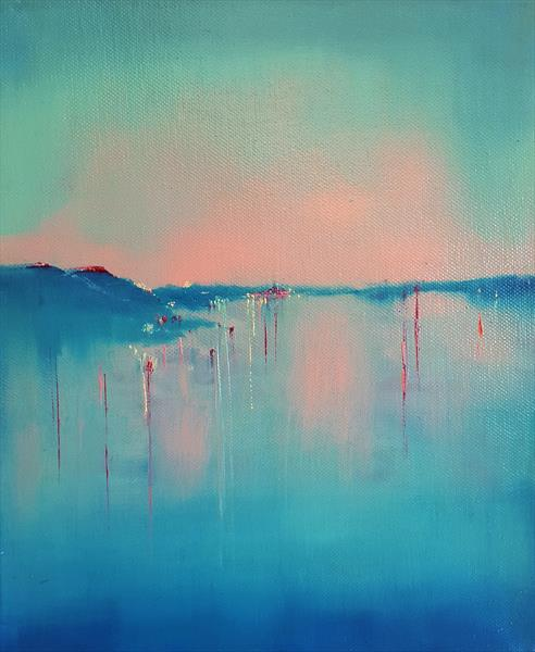 Evening by Water by Elizabeth Williams