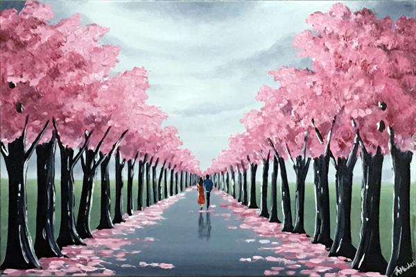 Our Blossom Tree Walk by Aisha Haider
