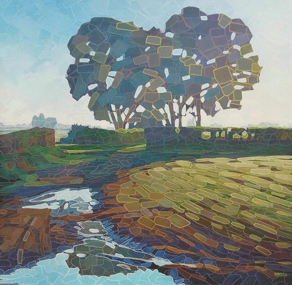 Poolfield (On show at The Art Gallery Tetbury) Reserved  by Paul Burgess