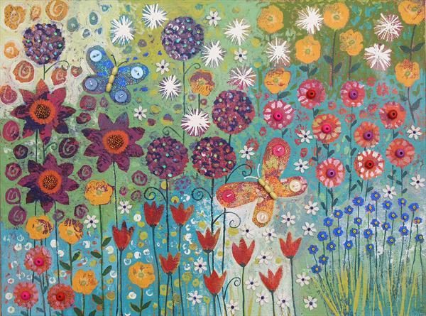 Rainbow Garden by Josephine Grundy