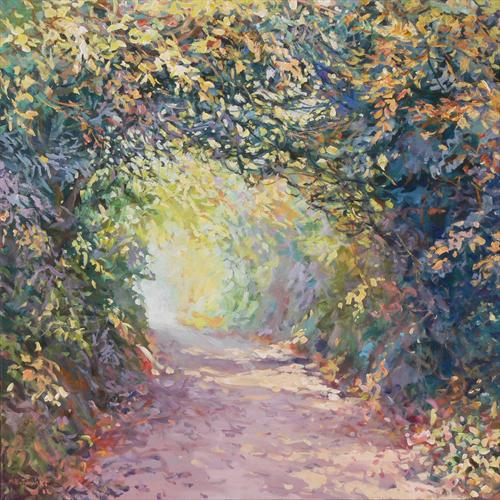 Hidden Lane (On Display At the Art Gallery, Tetbury) by Mariusz Kaldowski