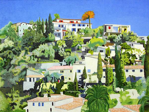 Deia Village #4 - Majorca by Paul Vaccari