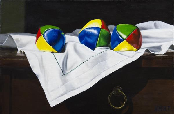 The Juggling Balls by Andrew Mcneile Jones