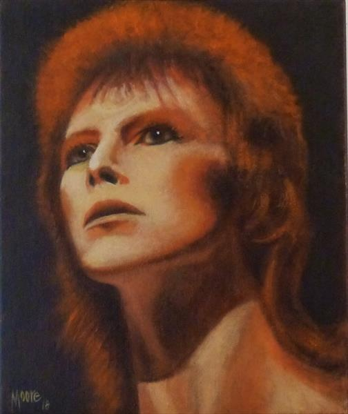 Ziggy Played Guitar by David Moore
