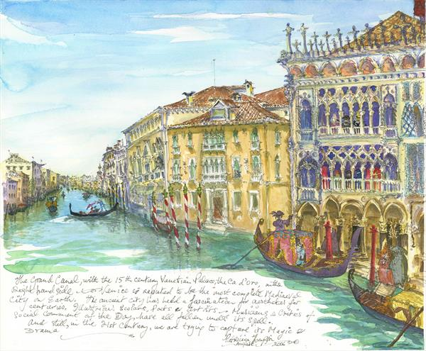 VENICE by Patricia Edith Mary Thompson
