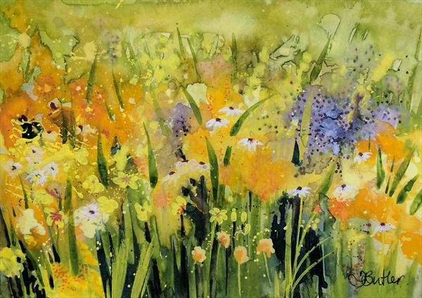 Daisy Field by Tracy Butler
