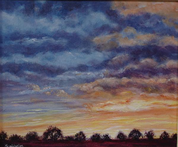 Sunset Sky  by Michele  WALLINGTON