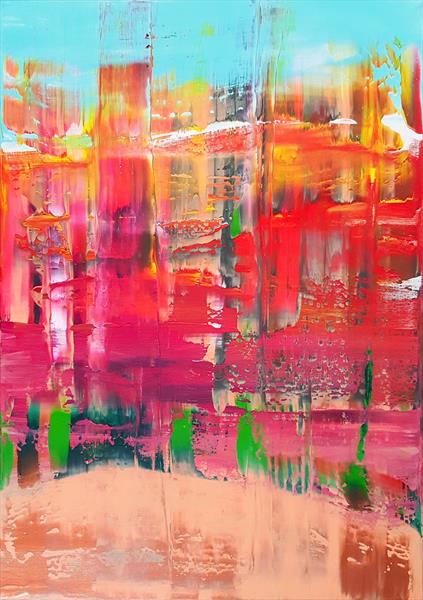 How far you can go - abstract landscape by Ivana Olbricht