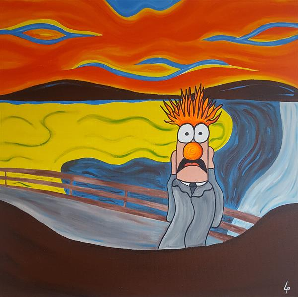 Beaker scream by Lee Proctor