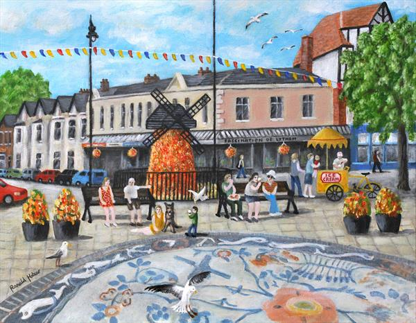 Clifton Square Lytham St Annes on Sea. by Ronald Haber