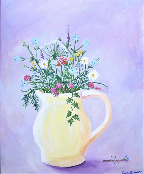 For the Love of Wild Flowers by Sara Spencer