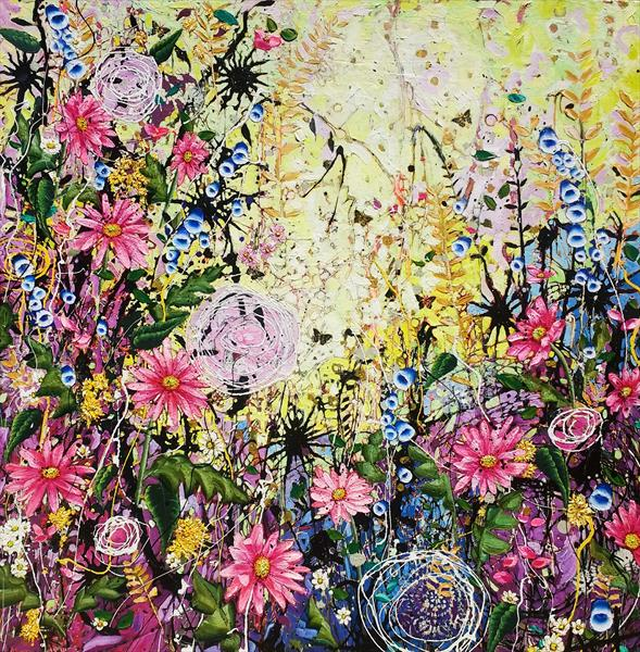 Twisted Daisies by Angie Wright