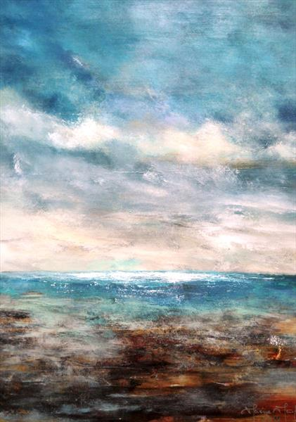 Over The Sea To Sky II by Maxine Martin