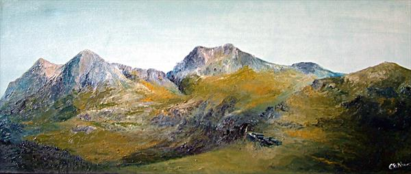 Langdale Pikes by Gary Kitchen