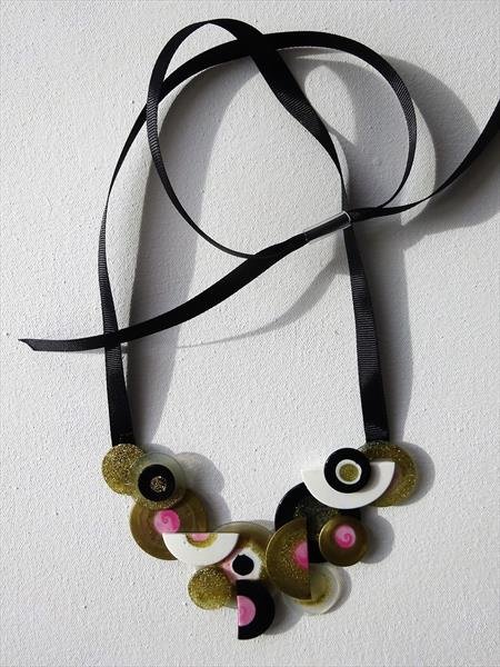 Abstract Necklace 1 by Paula Horsley