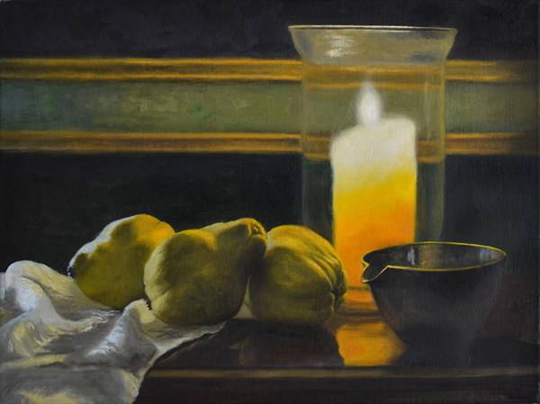 Quinces by Candlelight by Andrew Mcneile Jones