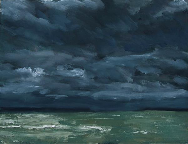 Stormy North Sea by Nikki Wheeler